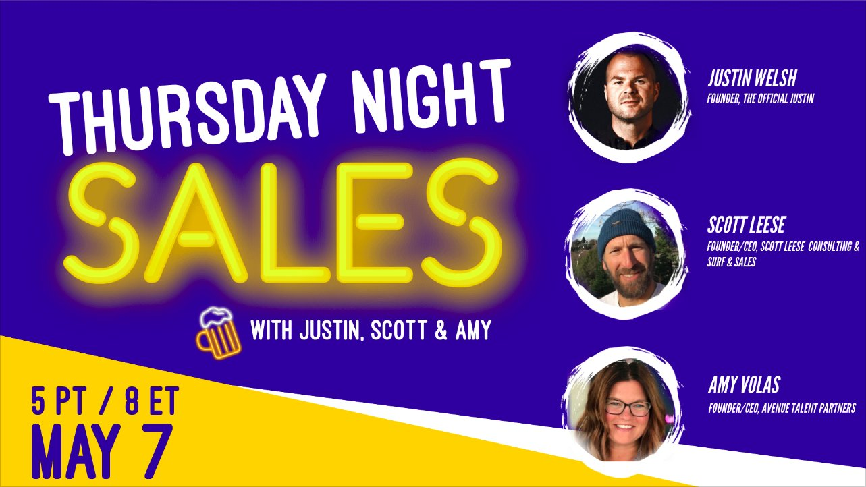 Thursday Night Sales Event Calendar
